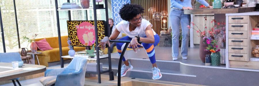 Mijn Jumping Fitness tv-optreden bij Koffietijd!!